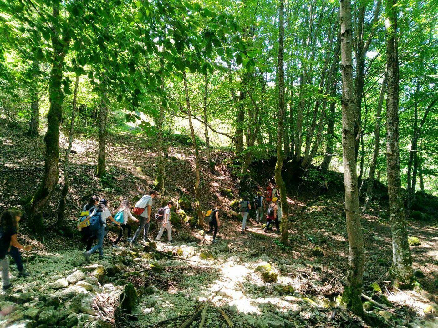 Mini Trekking (6-13 anni)